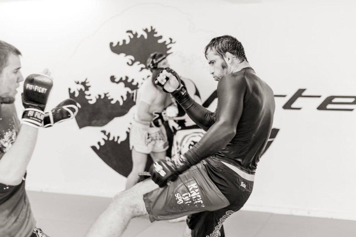 Kickboksning udendørs