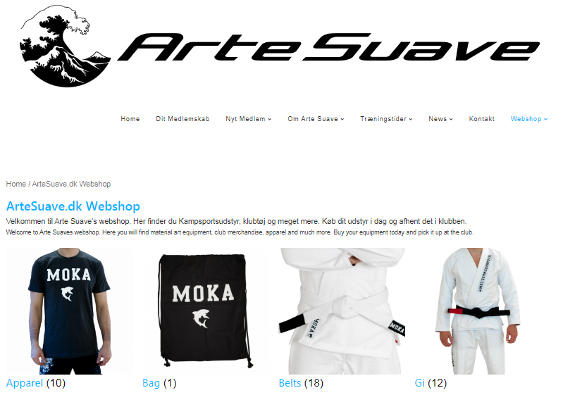 ArteSuave webshop