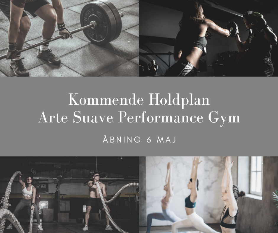 Kommende Holdplan Performance Gym